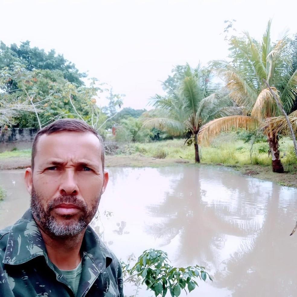 Cabo da PM Ireno Duarte foi morto a tiros na garagem de casa em Saquarema, no RJ — Foto: Reprodução/Redes sociais