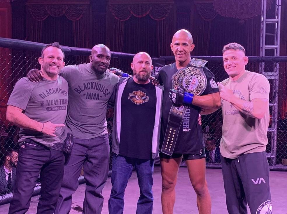 Gregory Robocop tem sua grande chance de entrar no UFC  — Foto: Arquivo Pessoal
