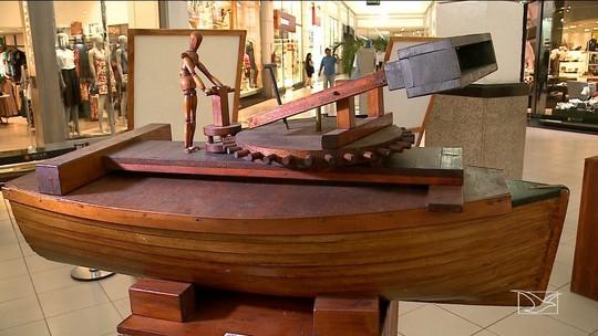 Exposição apresenta réplicas de invenções de Leonardo da Vinci