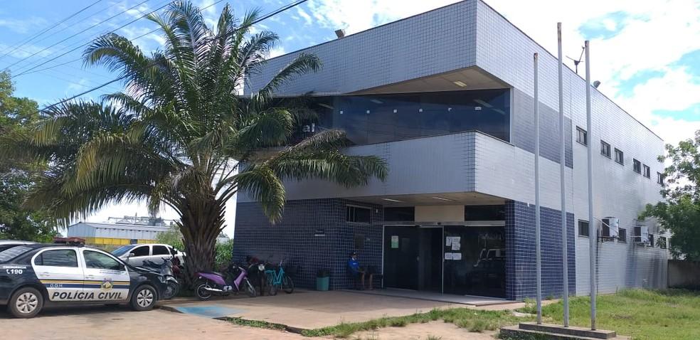 5º DP de Boa Vista — Foto: Vanessa Fernandes/G1 RR/Arquivo