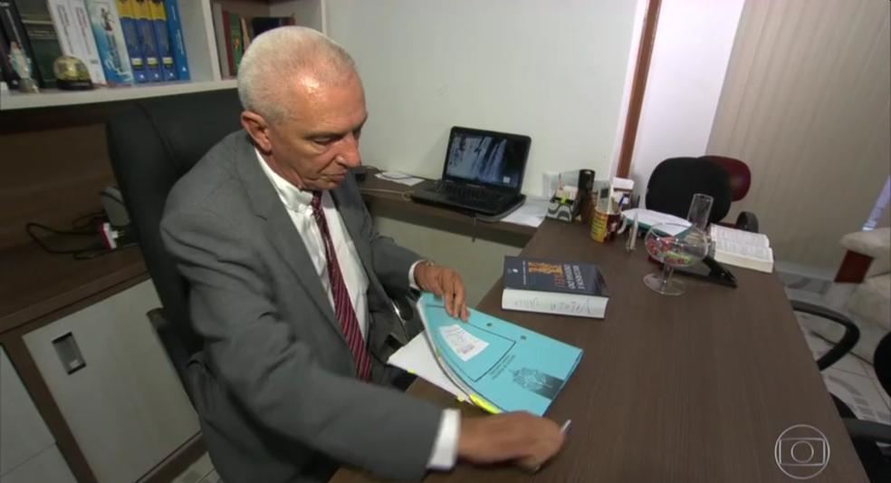 Advogado diz que não aceitou proposta e acionou polícia (Foto: Rede Globo/Reprodução)