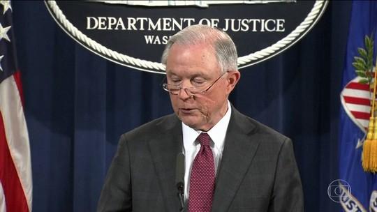 Chefe do Departamento de Justiça dos EUA depõe sobre influência russa