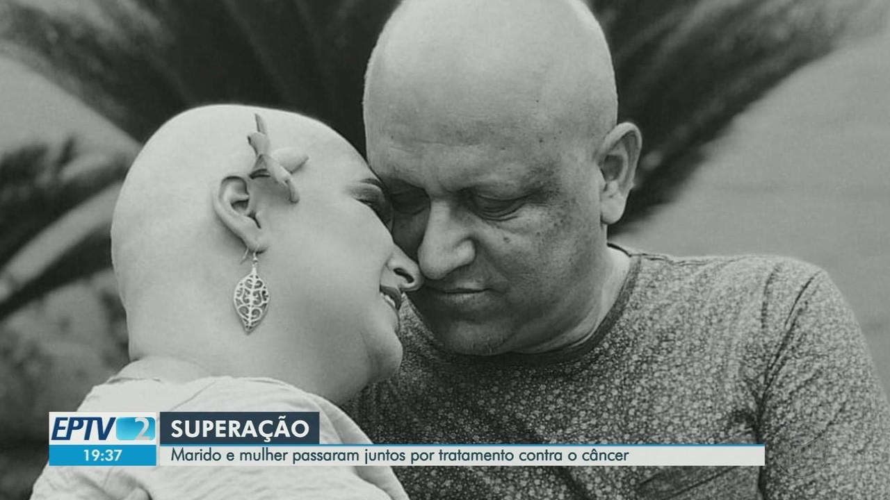 Marido e mulher descobrem e enfrentam câncer juntos em Ribeirão Preto
