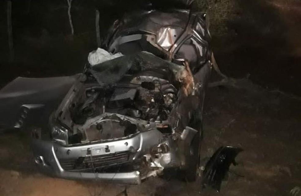 Cantor gospel Daniel e esposa sofrem acidente de carro no Piauí — Foto: Divulgação