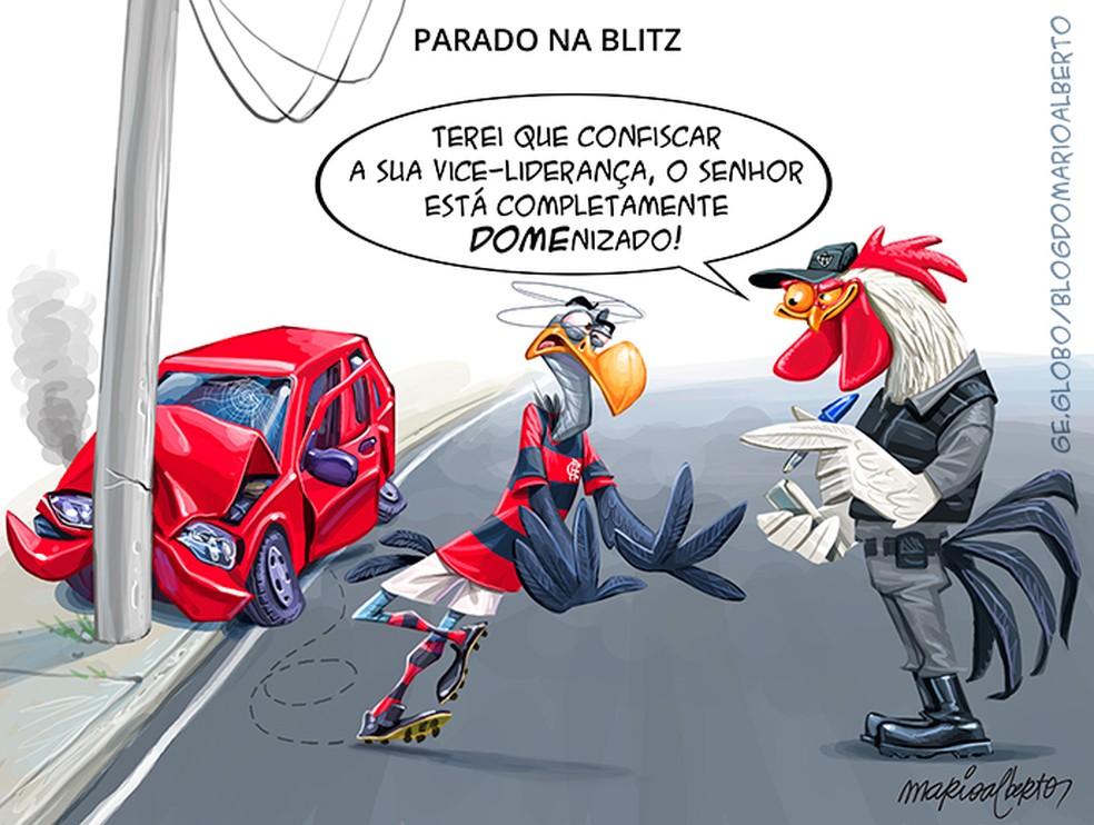 8/11/2020 - 20 ª RODADA - Atlético-MG 4x0 Flamengo — Foto: Mario Alberto