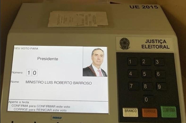 A eleição de Barroso para o TSE