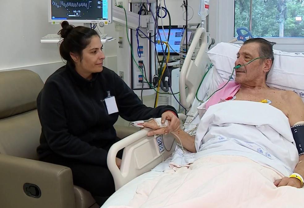 Maior tempo de visita em UTIs reduz transtornos entre familiares de pacientes, segundo estudo — Foto: Reprodução/RBS TV