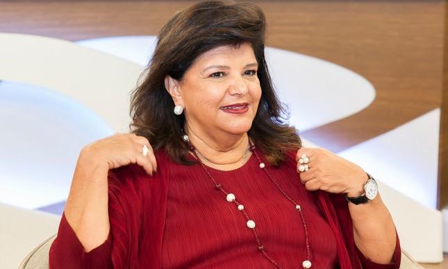 A empresária Luiza Trajano