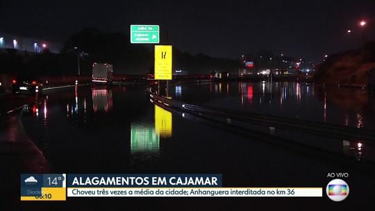 Estragos da chuva em Cajamar e Caieiras
