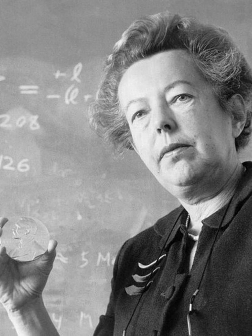Quando Goeppert Mayer ganhou o Nobel de Física em 1963, ela se tornou a segunda mulher na história a receber o prêmio — Foto: Getty Images via BBC