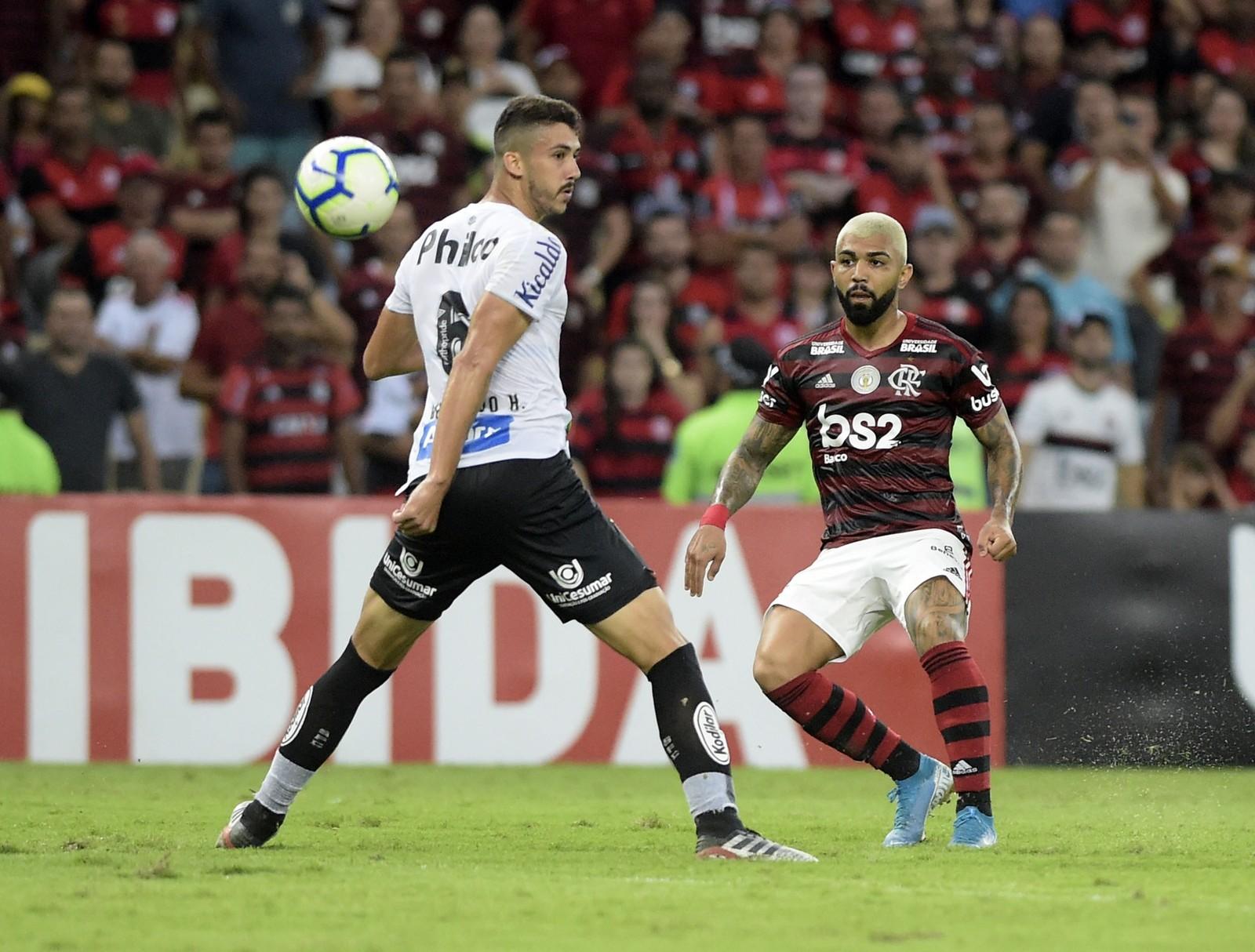 Notas da partida: Confira as notas para os destaques do Mengão entre Flamengo 1x0 Santos