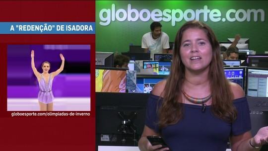 GE no Giro traz capacete de Alonso, grávida em quadra e redenção de Isadora Williams