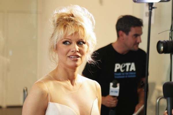 A atriz Pamela Anderson (Foto: Getty Images)