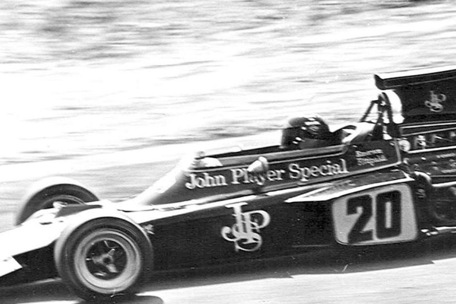 A Lotus modelo 72D, que levou Emerson Fittipaldi ao título de 1972 (Foto: Wikimedia Commons)