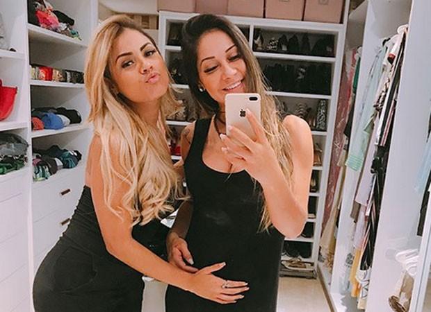 Lexa e Mayra Cardi (Foto: Reprodução)