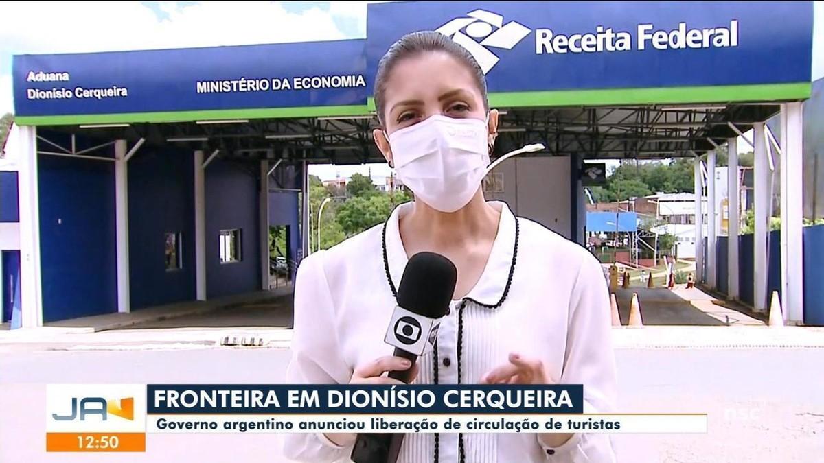 Governo argentino libera circulação de turistas em fronteira de SC