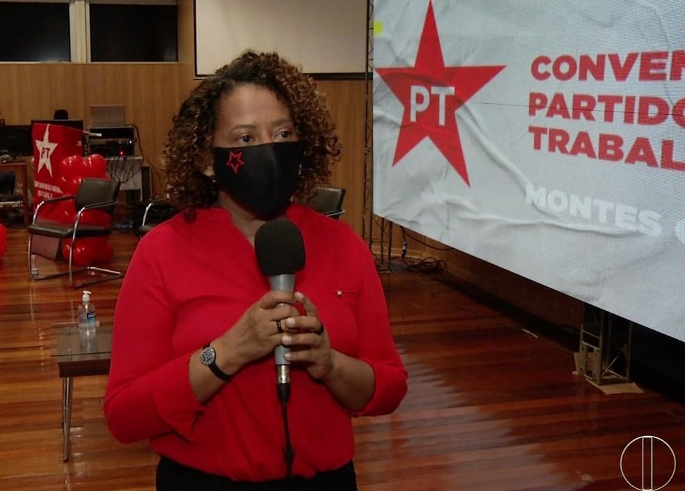 Marilene Alves de Souza do PT — Foto: Inter TV / Reprodução