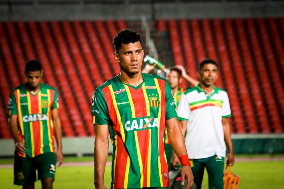 Sampaio tem cinco partidas para tentar permanência na Série B — Foto: Lucas Almeida / L17 Comunicação