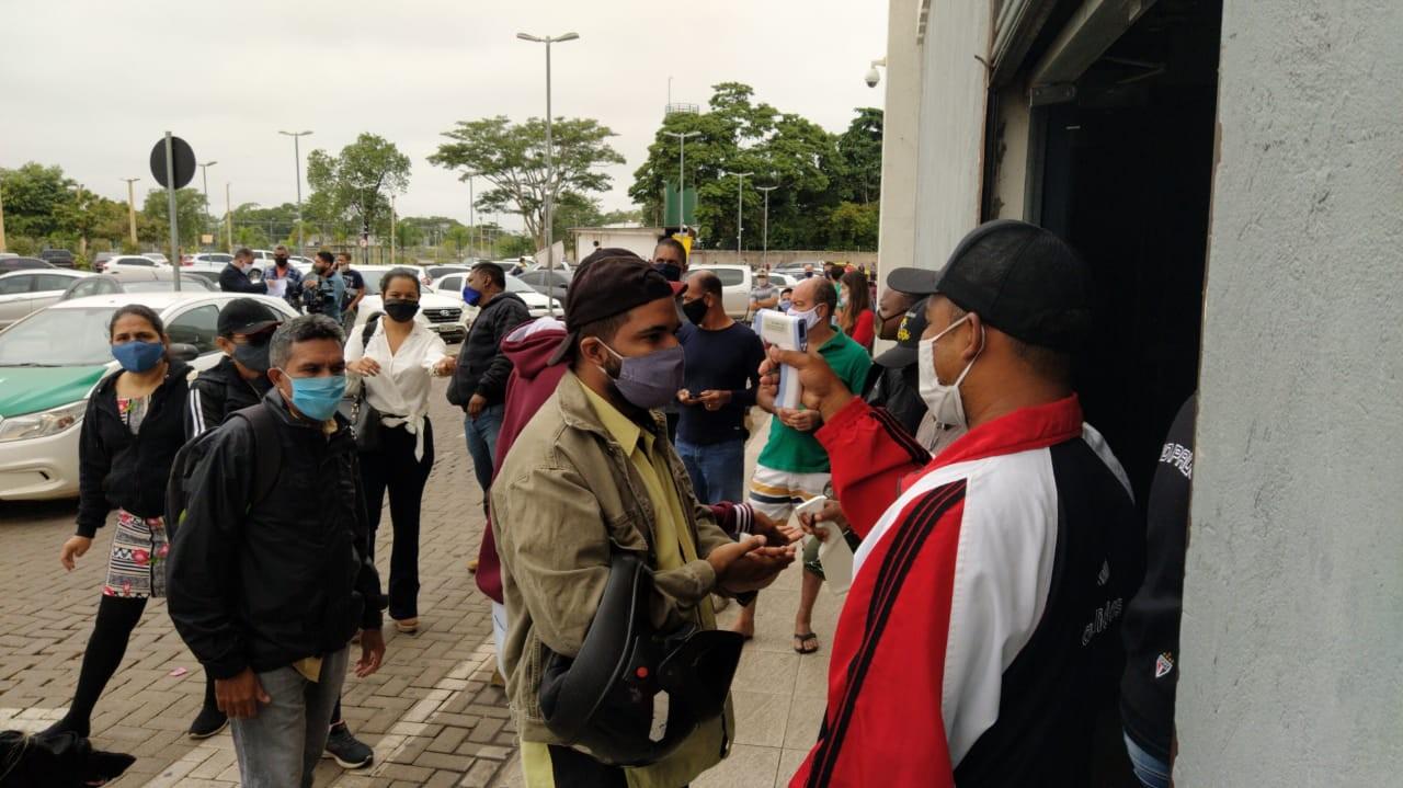 Shopping Popular de Cuiabá é reaberto após 70 dias com 30% dos boxes em funcionamento