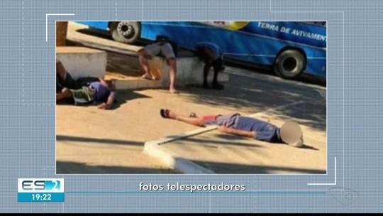 Homem é encontrado morto em praça de Colatina e Polícia investiga se houve envenenamento