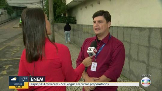 Curso para o Enem oferece 2.550 vagas gratuitas em todo o RJ