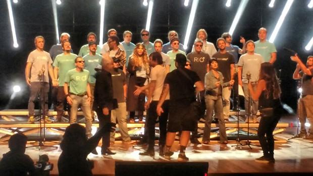 Rock in Rio reúne Anitta e artistas para resgatar imagem do Rio (Foto: QUEM)