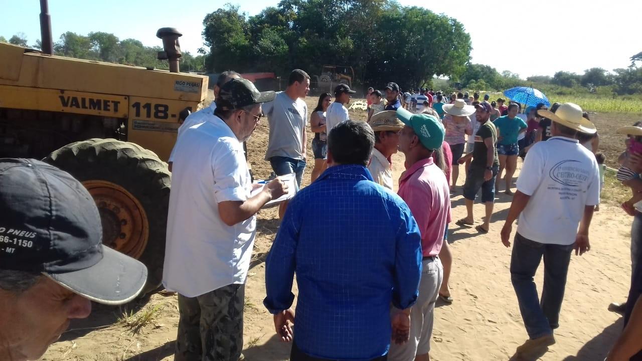 Famílias de assentados denunciam violência e ameaças de fazendeiros em região de conflito agrário em MT
