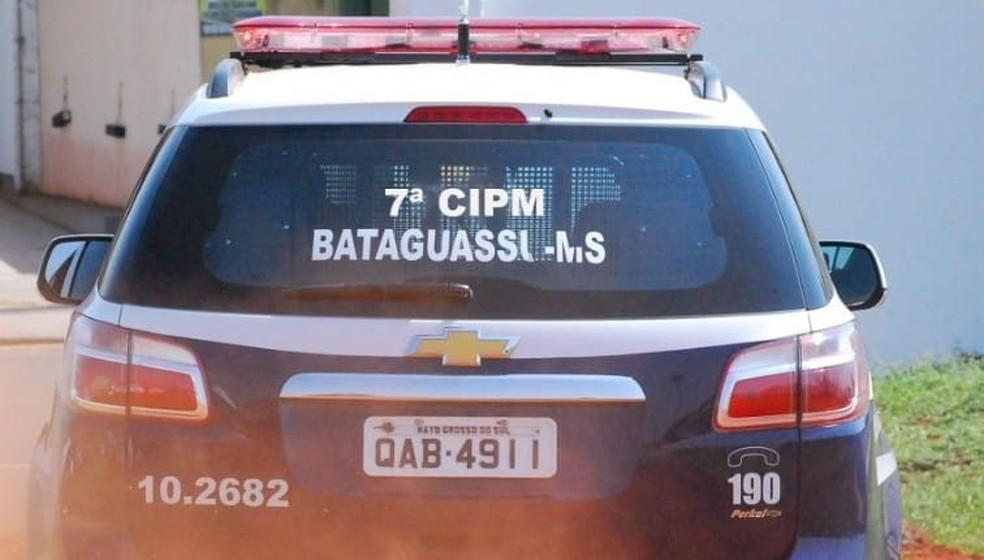 Homem é preso após tentar estuprar mulher, em Bataguassu. — Foto: Polícia Militar/Divulgação