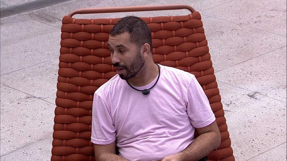 Gilberto analisa o jogo do BBB21 e fala sobre João Luiz: 'Acho que ele é o primeiro foco' — Foto: Globo