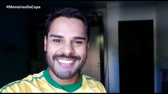 Pablo Vasconcelos relembra história engraçada que viveu durante a Copa de 94