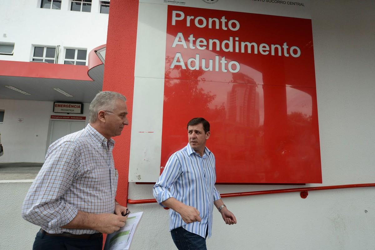 Prefeito de São Bernardo é internado na UTI, após piora em quadro de coronavírus