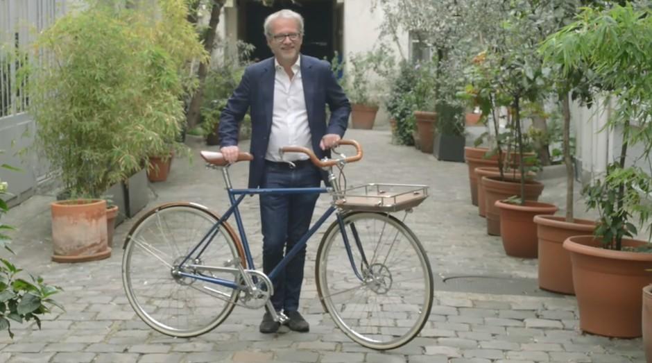 Frédéric Jastrzebski, empreendedor a frente de negócio centenário de bicicletas (Foto: Divulgação)