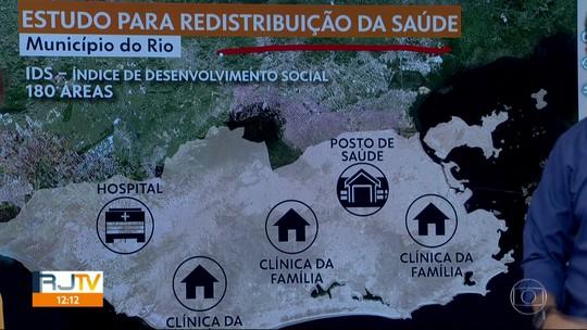 Prefeitura do Rio estuda transformar parte das clínicas  da família em postos de saúde