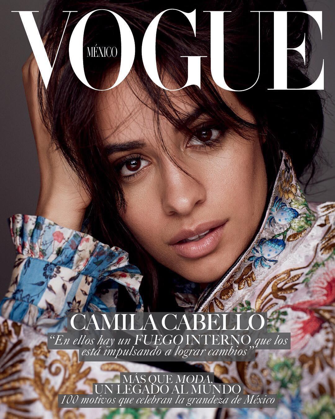 Camila Cabello para Vogue México (Foto: Reprodução/Instagram)