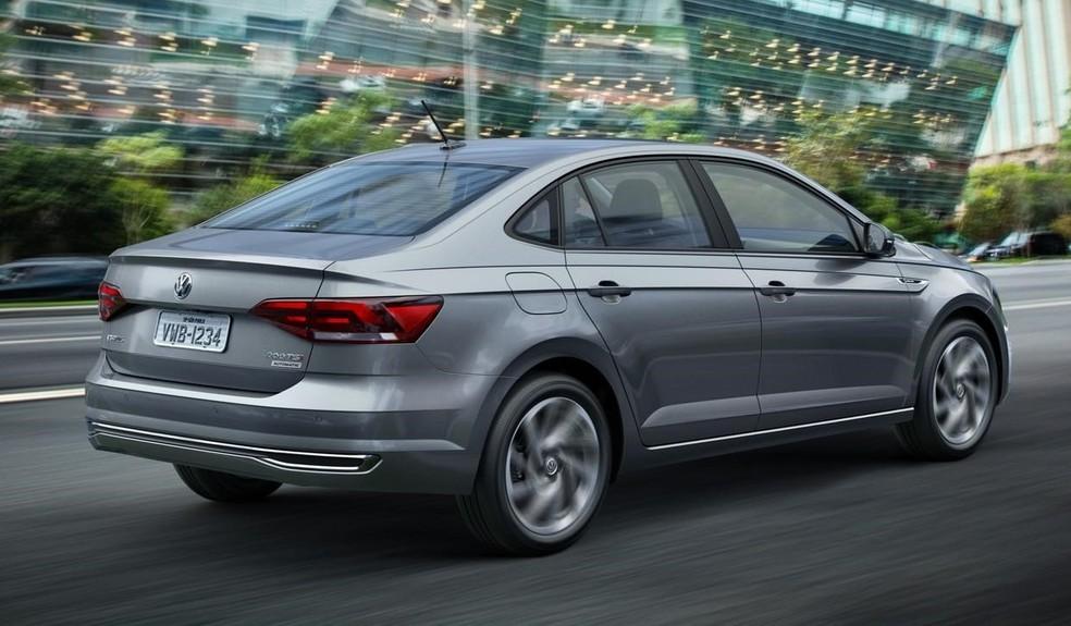 Volkswagen Virtus — Foto: Divulgação