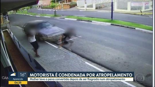Motorista sem perna que atropelou adolescente é condenada a 1 ano de prisão em regime semiaberto