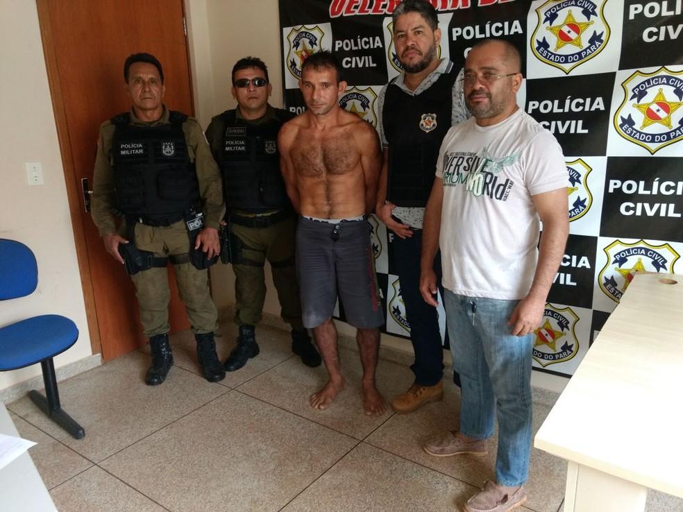 Foragido de Amapá foi preso após denúncias anônimas (Foto: Divulgação/Polícia Militar)