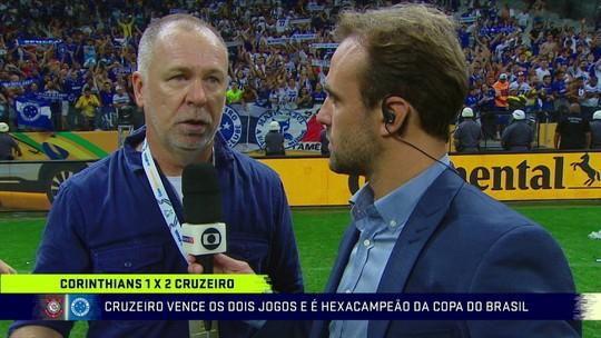 Edílson, Mano, Egídio e Robinho falam sobre a conquista da Copa do Brasil