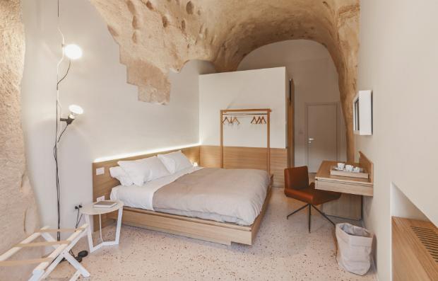 Cavernas milenares viraram hotel (Foto: Divulgação)
