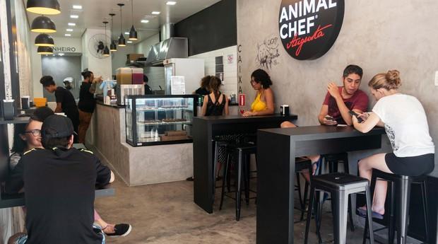 AnimalChef, hamburgueria vegana localizada em São Paulo (SP) (Foto: Divulgação)