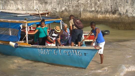 Terminais marítimos de Salvador oscilam com situações de abandono e conservação