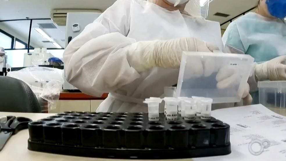 HC de Botucatu participa de estudo sobre medicamento contra trombose em casos de Covid — Foto: TV TEM/Reprodução
