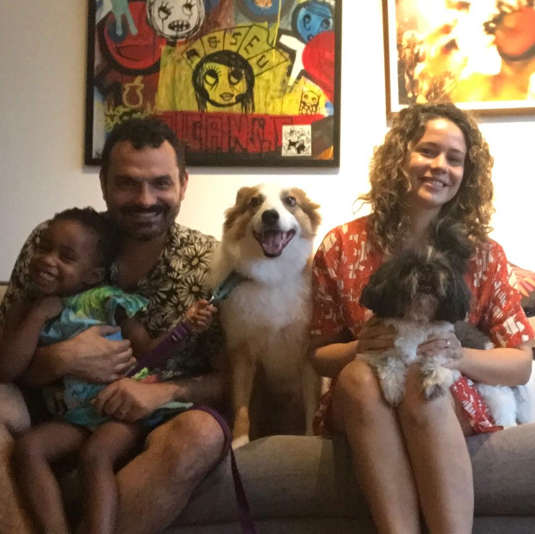 Leandra Leal e família (Foto: Reprodução/Instagram)