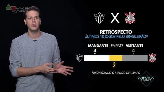 Atlético-MG x Corinthians: veja onde assistir, escalações, desfalques e arbitragem