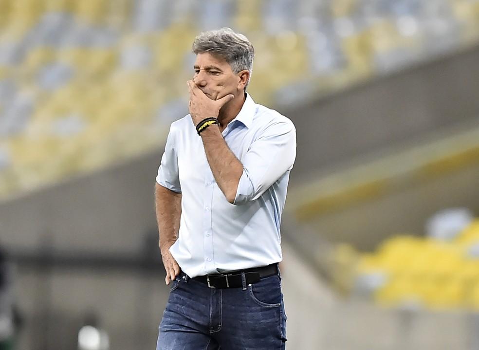 Renato Gaúcho valoriza atuação de Andreas Pereira — Foto: André Durão