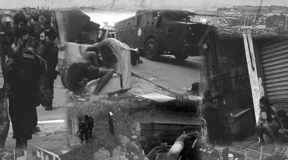 Especial: as 9 horas de terror no Jacarezinho — Foto: Guilherme Luiz Pinheiro / G1