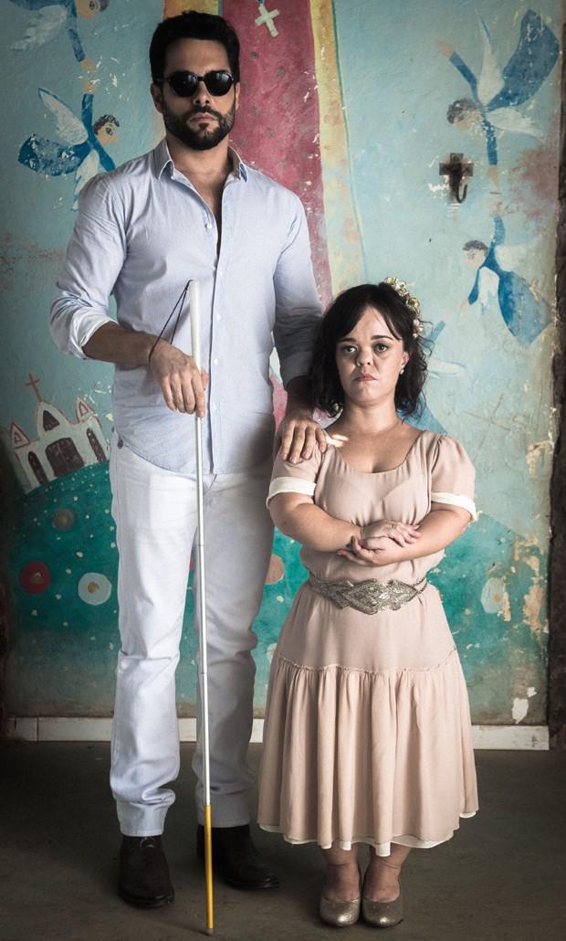 Em O Outro Lado do Paraíso, Pedro Carvalho formou par romântico com Juliana Caldas (Foto: Divulgação/TV Globo)