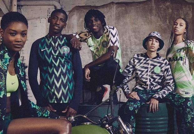 Nigéria diz que a Nike tem recorde de pré-encomendas para sua camisa da Copa 2018 (Foto: Nike)
