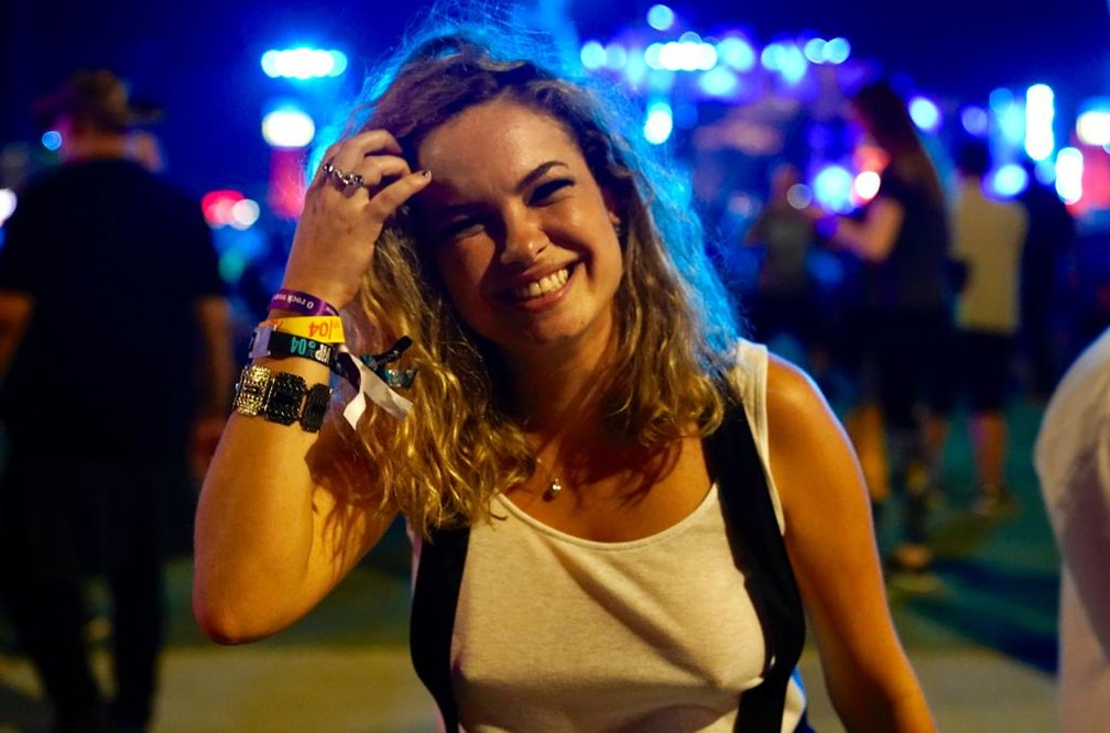 Lua Blanco no Rock in Rio — Foto: Marcos Serra Lima/G1