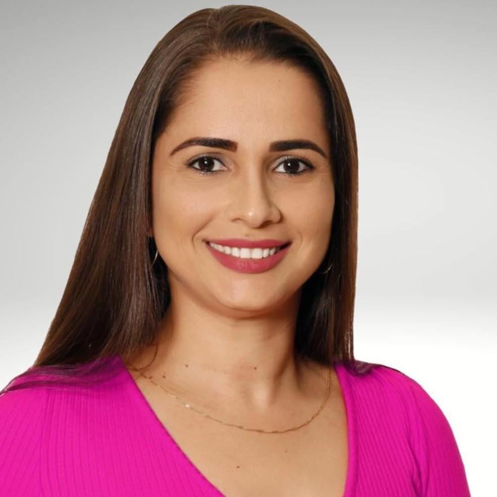 Gheysa Borgato, prefeita de Glória D'Oeste — Foto: Divulgação